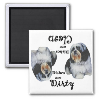 Shih Tzu Lovers Dishwasher Magnet