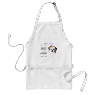 Shih Tzu Lovers Gifts Adult Apron