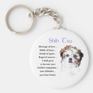 Shih Tzu Lovers Gifts Keychains
