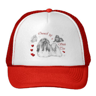 Shih Tzu Lovers Gifts Trucker Hat