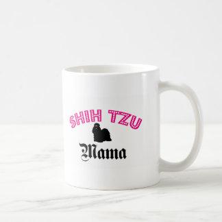 Shih Tzu Mama Classic White Coffee Mug