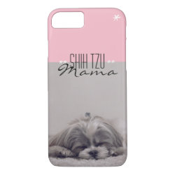 Case-Mate Barely There iPhone 7 Case with Shih Tzu Phone Cases design