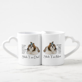 Shih Tzu Mom and Dad Mug Set