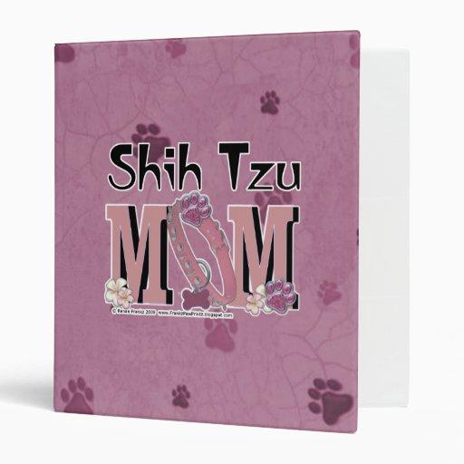 Shih Tzu MOM Binders