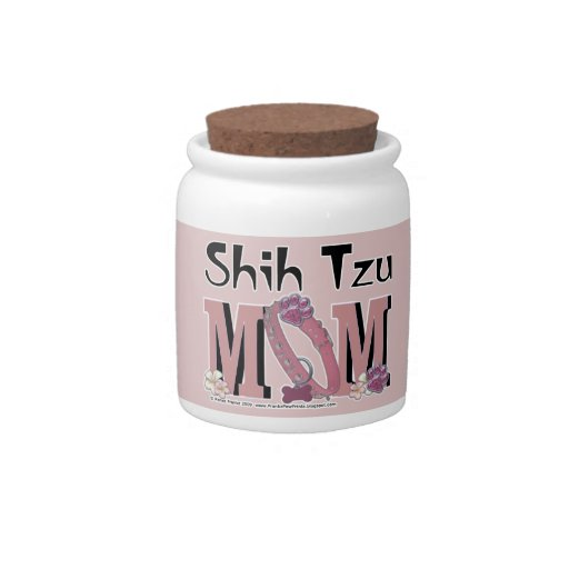 Shih Tzu MOM Candy Jars