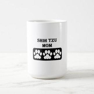 Shih Tzu Mom Classic White Coffee Mug
