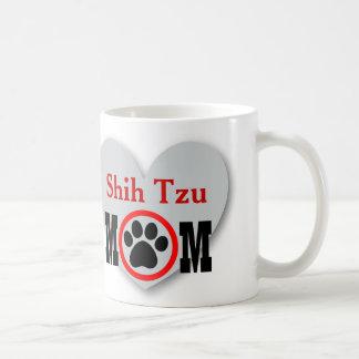 Shih Tzu Mom Dog Lover Gift S01 Classic White Coffee Mug