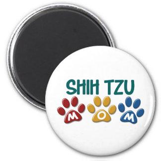 SHIH TZU  Mom Paw Print 1 Magnet