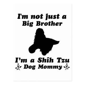 Shih Tzu Mommy Designs Postcard