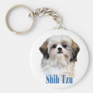 Shih Tzu Name Keychains