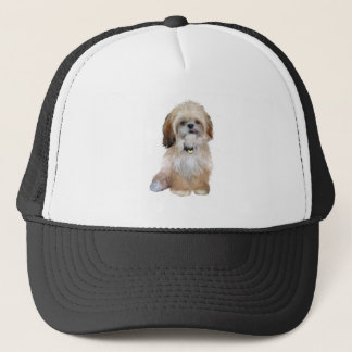 Shih Tzu (P) - with tongue out Trucker Hat