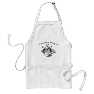 Shih Tzu Perfect Angel Butterfly Catcher gifts Adult Apron