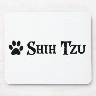 Shih Tzu (pirate style w/ pawprint) Mouse Pad