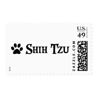 Shih Tzu (pirate style w/ pawprint) Postage