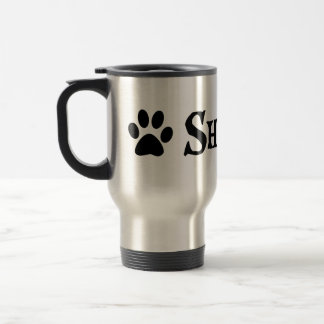 Shih Tzu (pirate style w/ pawprint) Travel Mug