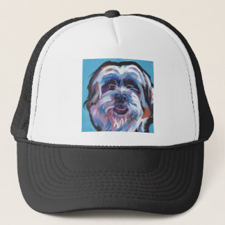 Shih Tzu Pop Art Trucker Hat