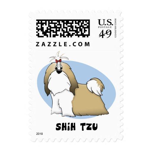 Shih Tzu Postage Stamps