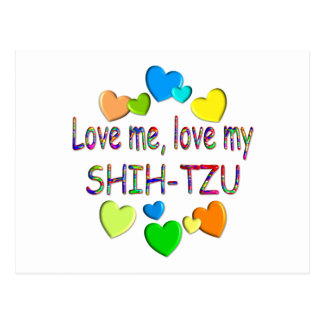SHIH-TZU POSTCARD