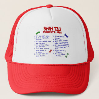 SHIH TZU Property Laws 2 Trucker Hat