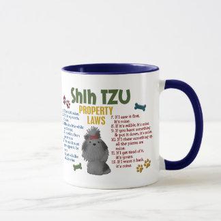 Shih Tzu Property Laws 4 Mug
