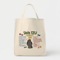 Shih Tzu Property Laws 4 Tote Bag