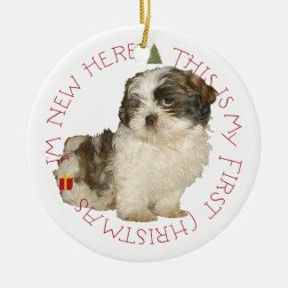 Support Shih Tzu Rescue Ornaments & Keepsake Ornaments | Zazzle
