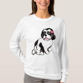 Shih Tzu Puppy Women's Long Sleeve T-Shirt