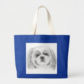 Shih Tzu Reuse Recycle Bag