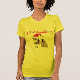 Shih Tzu Santa-Merry Christmas T-Shirt