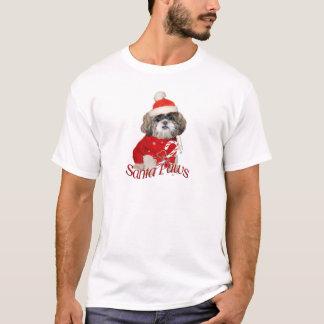 Shih Tzu Santa Paws for shirts