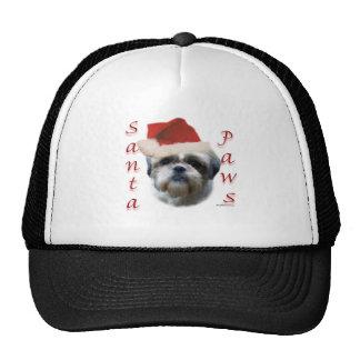 Shih Tzu Santa Paws Hat
