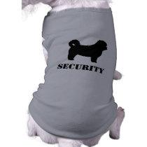 Shih Tzu Security Dog T-Shirt