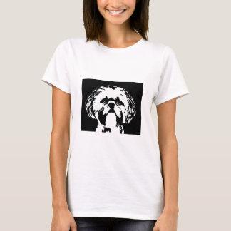 Shih Tzu Shirt - Ladies Baby Doll T-Shirt