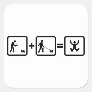 Shih Tzu Square Sticker