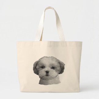 Shih Tzu - Stylized Image - Add Your Qwn Text Bags