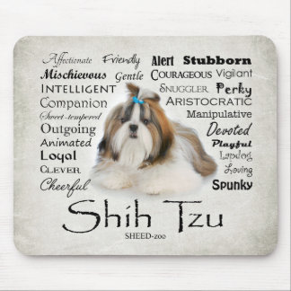 Shih Tzu Traits Mousepad