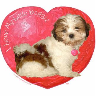 Shih Tzu Valentine's Day Statuette