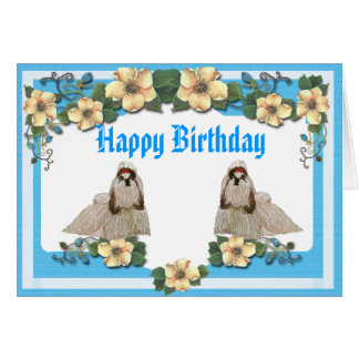 Shih-Tzu - Will Rock Forever Greeting Card