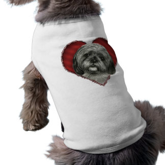 Shih Tzu with Heart Pet Clothes