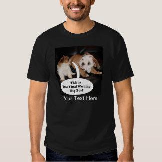 Shih Tzu y dogo inglés Puppys Playera