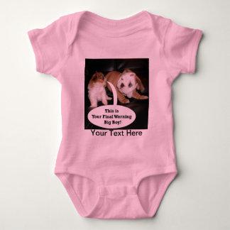 Shih Tzu y dogo inglés Puppys Poleras