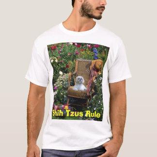 Shih Tzus Rule T-Shirt Garden