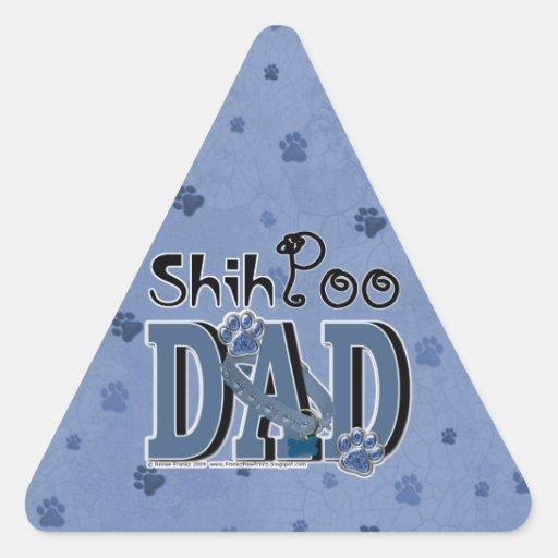 ShihPoo DAD Triangle Sticker