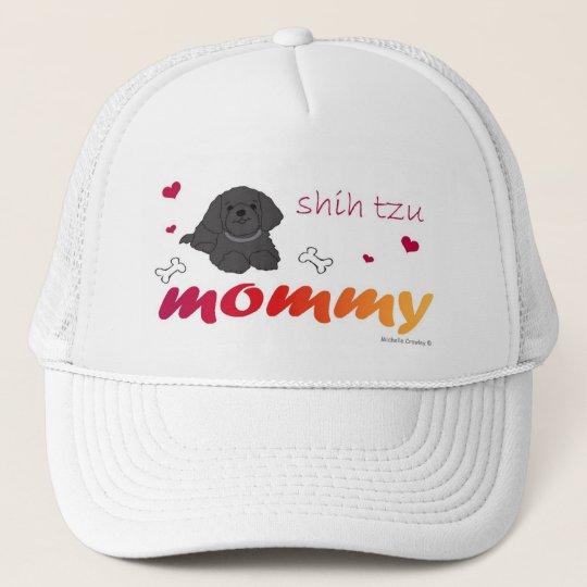 ShihTzuBlk Trucker Hat