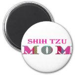 ShihTzuMom 2 Inch Round Magnet