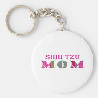 ShihTzuMom Keychain
