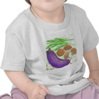 Shiitake y Veggies Camiseta
