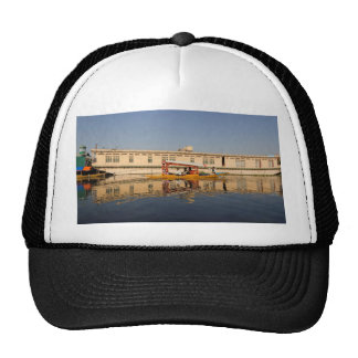 Shikara with tourists in Dal Lake Mesh Hats