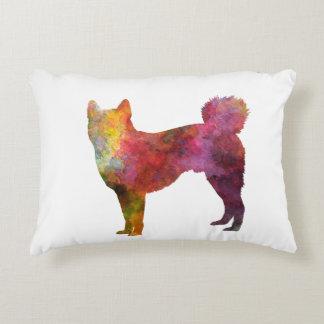 Shikoku in watercolor decorative pillow