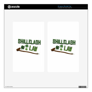 Shillelagh Law Kindle Fire Skins